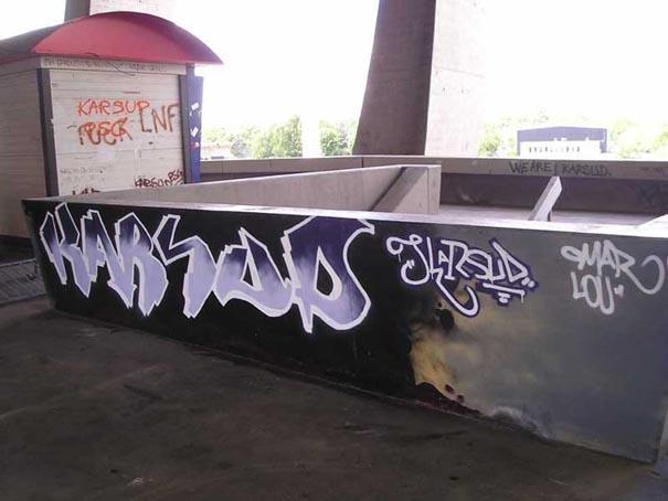 Graffiti et tags ultras Karsud2